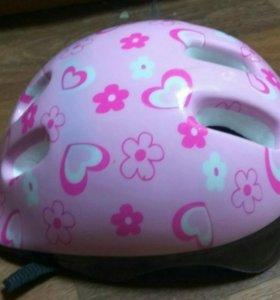 Детский шлем для девочки