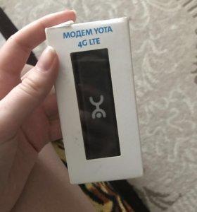 Продам модем yota 4g
