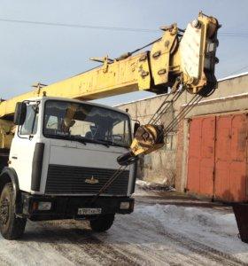 Услуги автокрана г/п 15 тонн,,, стрела 21метр