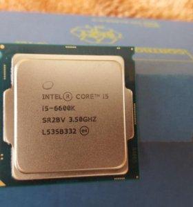 Процессор Intel skylake i5 6600k