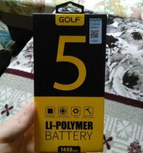 Аккумулятор на айфон 5