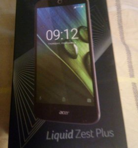Коробка от aser Liquid Zest Plus