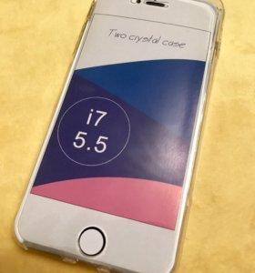 Чехол тач скрин на айфон 7+ чехол на айфон