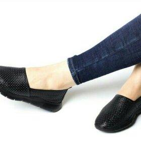 Продам новые кожаные туфли 36 р-ра