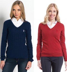 Кофта пуловер свитер us polo