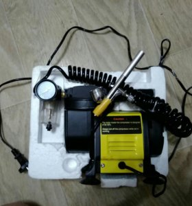 Мини компрессор для аэрографии + аэрограф.