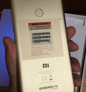 Xiaomi Mi A1 64 ГБ золотой