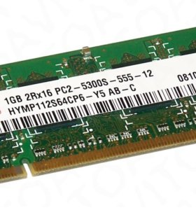 Оперативная память для ноутбука Hynix SO-dimm DDR2