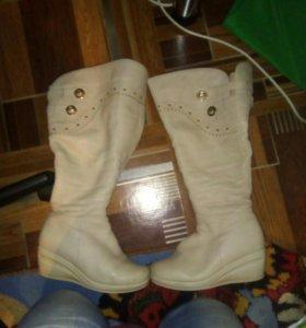 Кожаные туфли 37размер