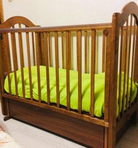 Детская кроватка Можга(Красная Звезда)!!!