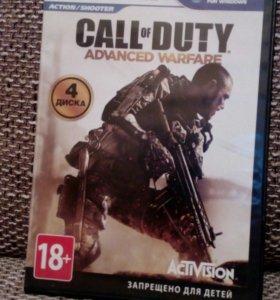 Диск Call of Duty Advanced Warfare