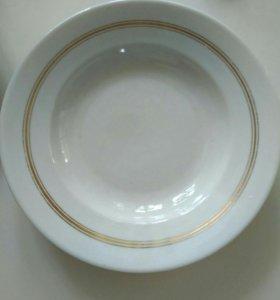 Старинная тарелка