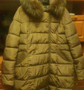 куртка зима в идеальном состоянии