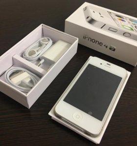 Iphone 4s white на 16 gb