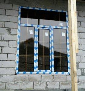 Пластиковые и Алюминевые окна двери витражи
