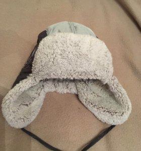 Зимняя шапка 1-2 года