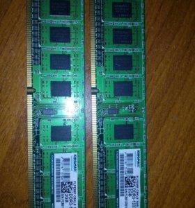 ddr3-1333 2 планки по 2GB