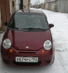 Daewoo Matiz, 2005