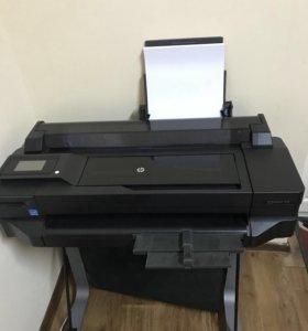 Плоттер HP DesignJet T520.