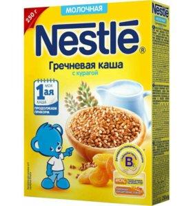 Каши Nestlé и NAN кисломолочный