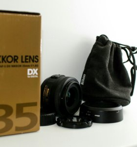 Nikon Nikkor 35 mm F1/1.8