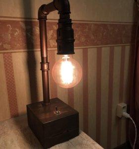 Лампа в стиле Loft