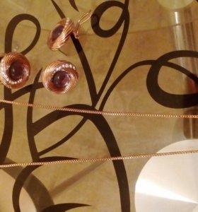 Бижутерия Florange - колье, кольцо, серьги