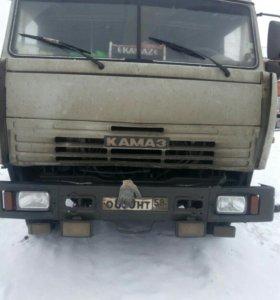 Камаз Зерновоз с прицепом