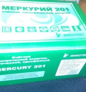 "Электросчетчик однофазный,бытовой ""Меркурий201"""