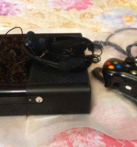 XBOX 360 с 4 играми