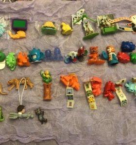 Киндеры, игрушки, фигурки
