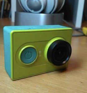 Экшен камера xiaomi yi basic edition