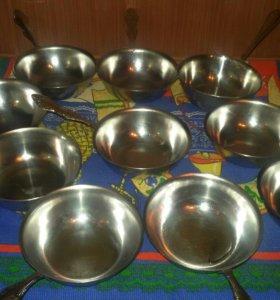 Кокотницы для жульена из нерж.стали (10 шт.)
