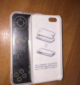 Чехол-приставка на iPhone 5
