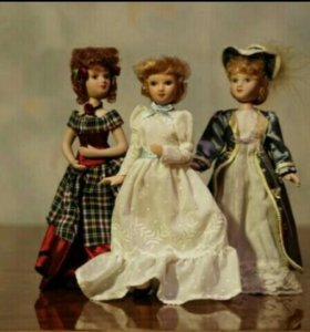 "Коллекционные куклы Deagostini ""Дамы эпохи"""