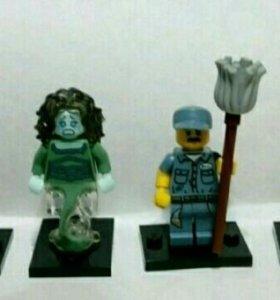 Минифигурки Lego 13,14 и 15 серии