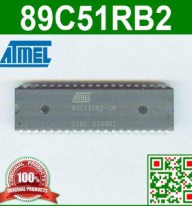 89C51RB2 - микроконтроллер (8-бит, 60 МГц, DIP40)