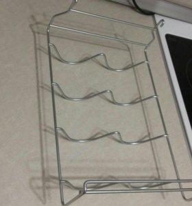 Полка в холодильник для бутылок подвесная БОШ
