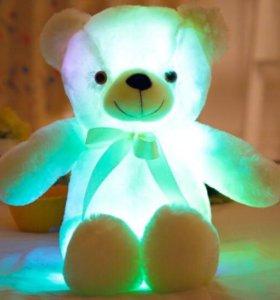 Мишка Тедди светящийся