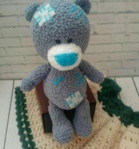 Вязаный мишка Тедди