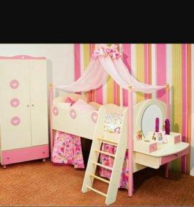 """Продам кровать-чердак """"Принцессы"""""""