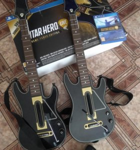 Guitar Hero Live для PS4 (игра + 2 гитары)