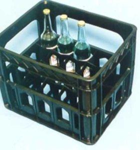 Пластмассовые ящики на 12 и 20 бутылок