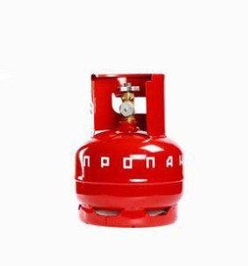 Продам газовый баллон на 5 литров