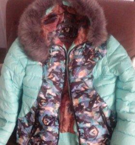Куртка зима, можно на прохладную осень-весна.