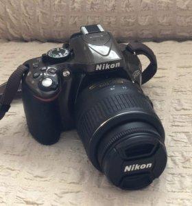 Зеркальная фотокамера Nikon D5200 18-55 VR Kit
