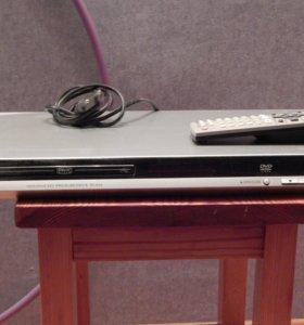 DVD магнитофон-проигрыватель