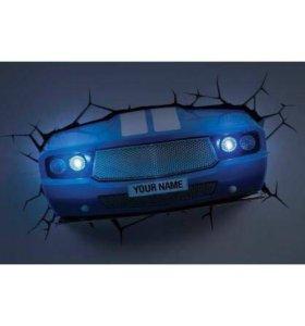 Светильник 3D Classic Car