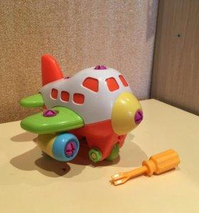 Игрушка - Конструктор Самолет