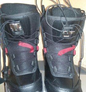 Новые Сноуборд ботинки Glide 35-36 размер